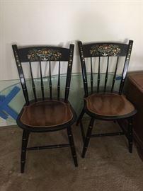 4  Hitchcock Chairs Nichols and Stone