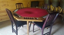 Poker table for the man (or woman!) cave
