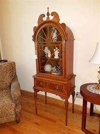 Small curio cabinet...so cute but gorgeous!