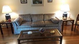 mid century sofa like new