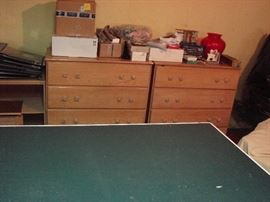 Dressers and PING PONG table!!!
