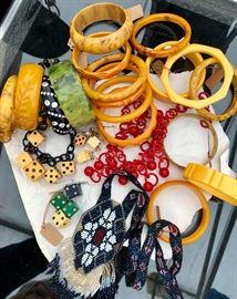 Antique Jewelry and Bakelite