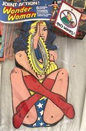 Wonder Woman Paper Figure
