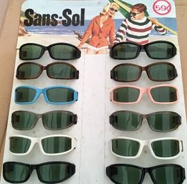 Deadstock Sunglasses 1960s