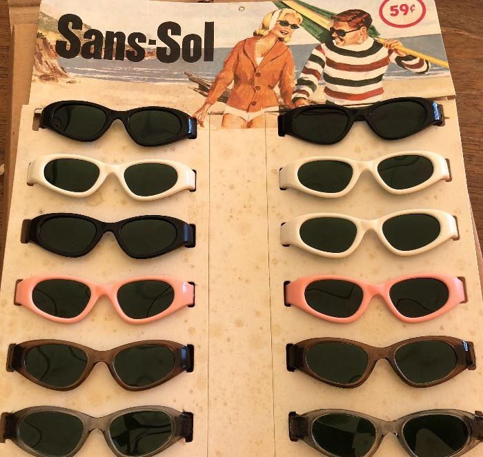 Deadstock 1960s Sunglasses