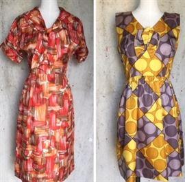 Colorful Vintage Dresses