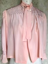 1930s Rayon Bed jacket