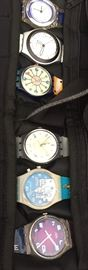 Swatch Watches - many more pics to come