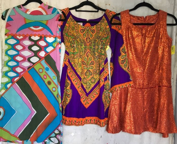 Vintage Pucci and 60s Dresses