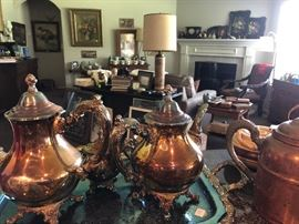 Silver Plate Coffee and Tea Service,