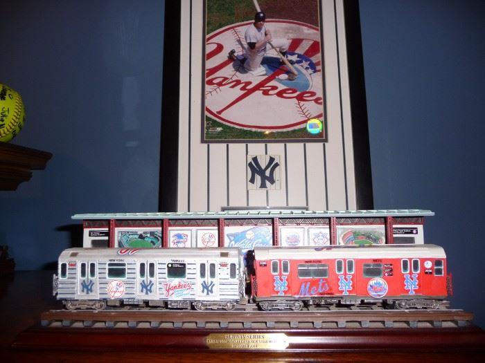 Subway Series memorabilia