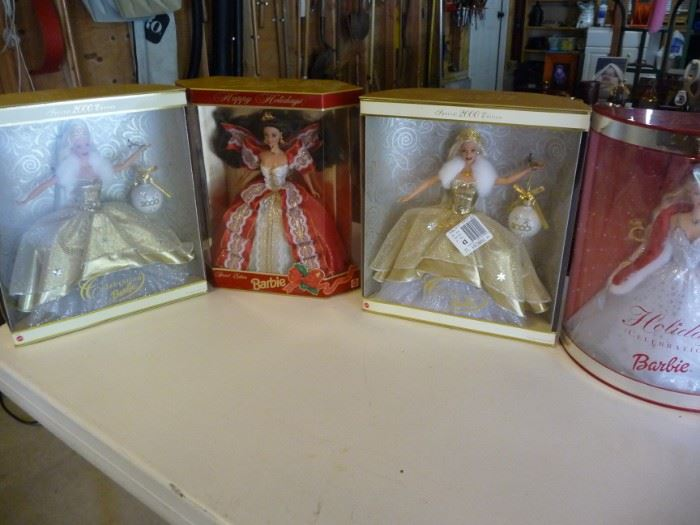 Barbie doll collection