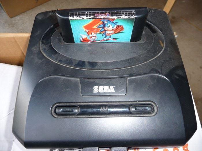 Sega game system