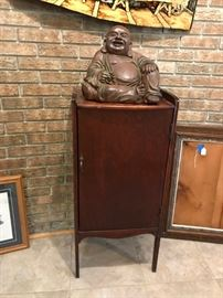 Buddha & Music Cabinet