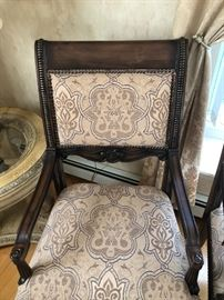 Part of the TEN dining chairs
