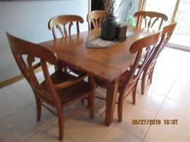 Nichols and Stone Table and chairs