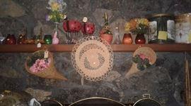 Assorted seasonal decor