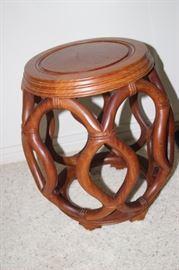 Bentwood stool.