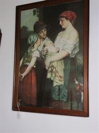 Victorian Lithograph