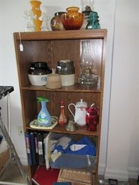 Bookcase - Assorted Antiques - File folders