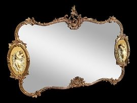 Beautiful French Provincial Mirror - 72 inches by 50 inches