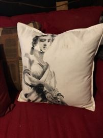 Pillow by Aidan Gray.  (Please read the terms and conditions regarding our sales) Set up and Photo by BC