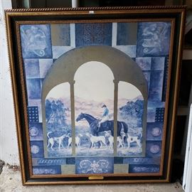 Silk screen artwork