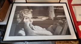 Marilyn monroe framed picture
