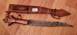 Hand made india knife