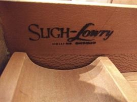 Sligh-Lowry mid-century desk