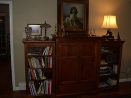 Yes, this is also Ethan Allen, yea it's a tv cabinet. Nice book cases.