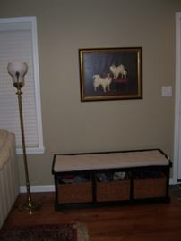 Nice bench with storage....3 out of 4. What??
