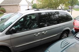 Chrysler Town & Country minivan with all wheel drive