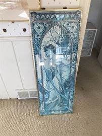 Framed Alfonso Mucha Poster