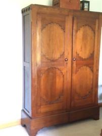 MB Antique Walnut Wardrobe