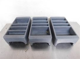 3 Plastic Storage Containers