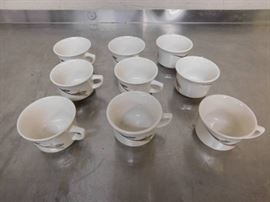 9 Decorative Ceramic Espree Cups