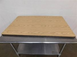 4 Foot Wood Table Top