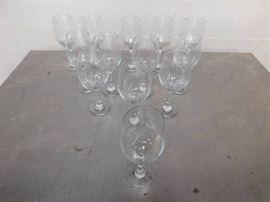 13 Large Wine Glasses