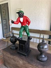 Cast iron Jocko, from Calumet