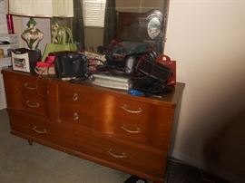 Crca 1960's dresser with mirror