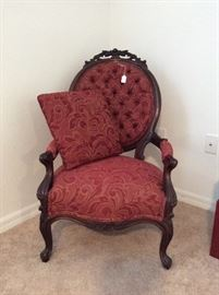 Victorian Parlor Chair....