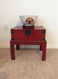 Chest with stand, an example of collectible items, not all are pictured....