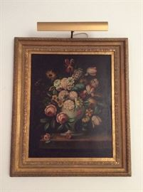 Authentic Ira Monte Signed still life....