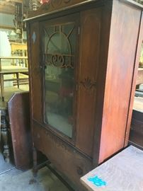 China cabinet to match buffet.