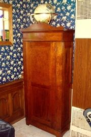 Antique chimny cupboard