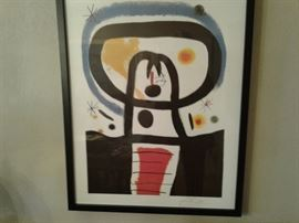 Modernistic Arts number signed1893 1983  Limited edition lithograph 323/500