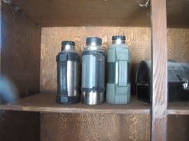 Old Thermos and Lunch Pails