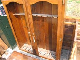 Gun Cabinet with Storage under