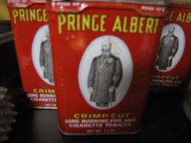 Yeah - Prince Albert is in a can